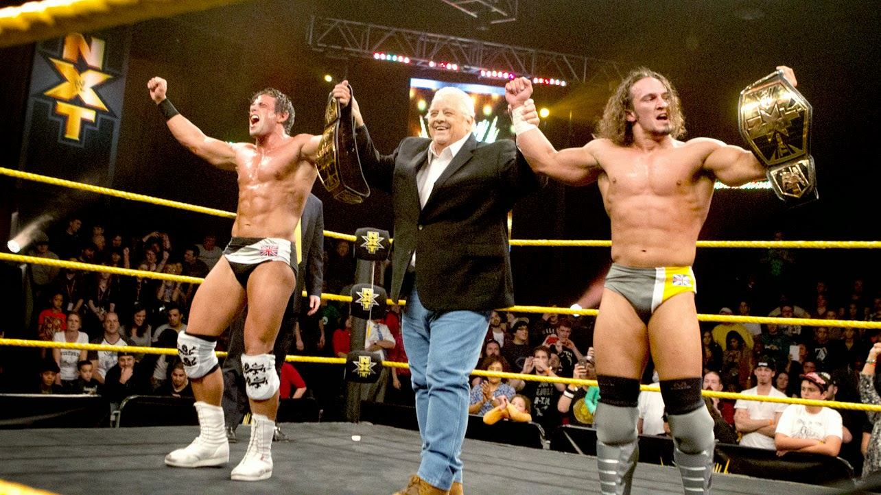 Adrian Neville Oliver Grey British Ambition NXT tag team champions first