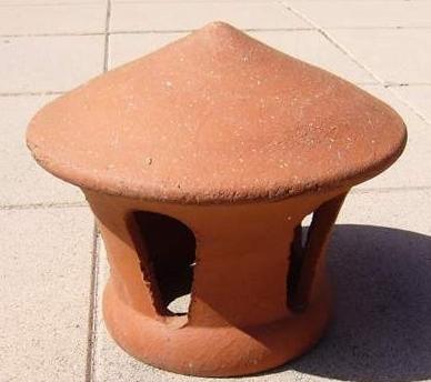 Chapeau chemin e terre cuite - Mitre en terre cuite pour cheminee ...