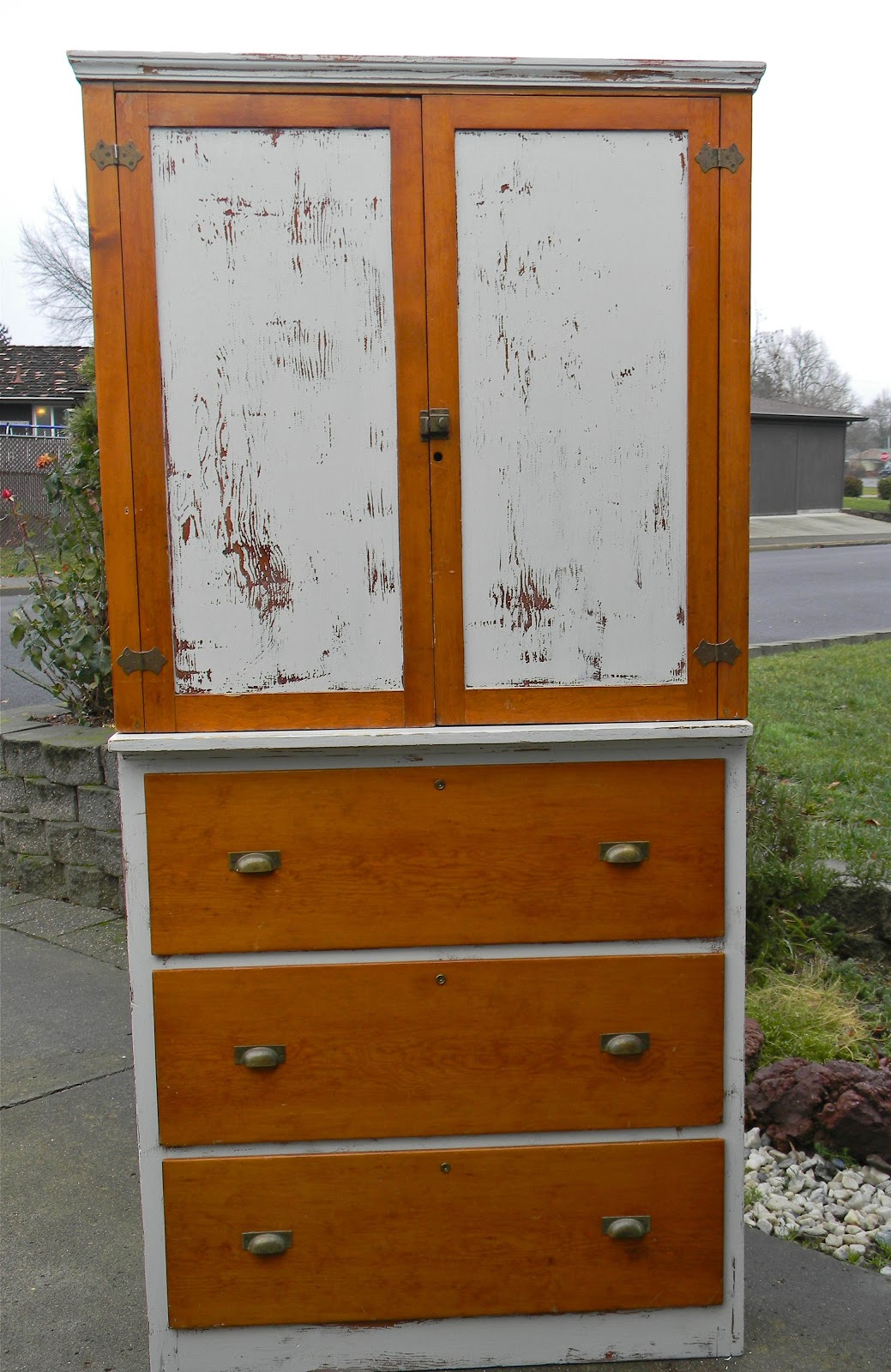 Emily 39 S Up Cycled Furniture Primitive Kitchen Cabinet