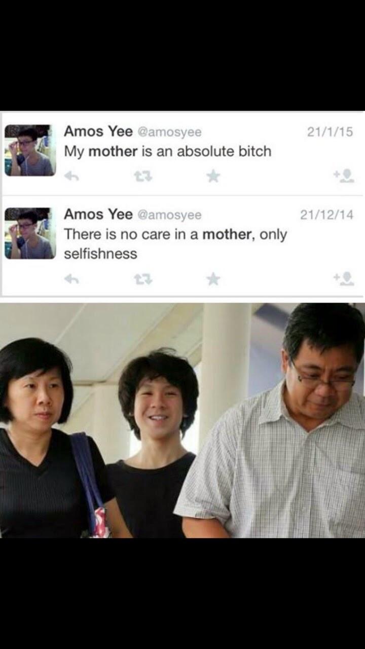 Amos Yee Facebook page