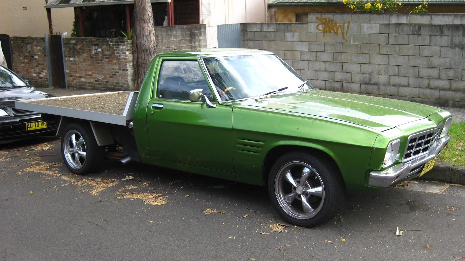 Aussie Old Parked Cars 1979 Holden Hz One Tonner