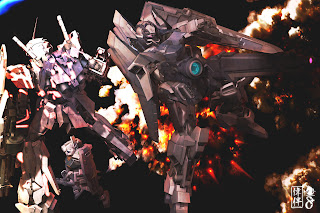 delta plus gundam fanart art fan digital painting 3d deviantart