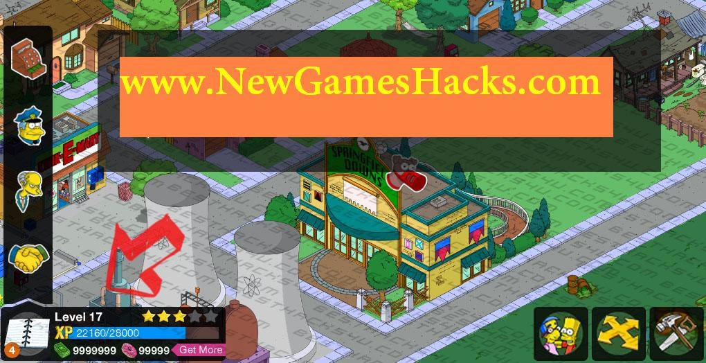 The Simpsons Tapped Out Cheats Cheat Codes for iPhone, iPad, iPod and