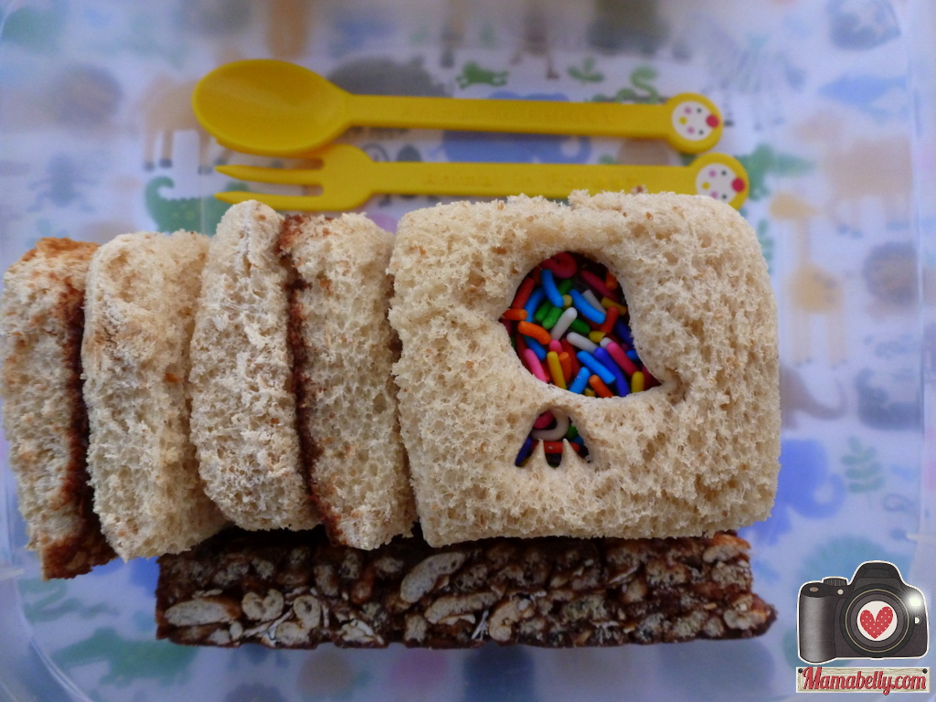 I Cannot Get Enough Of These Sprinkle Fairy Sandwiches