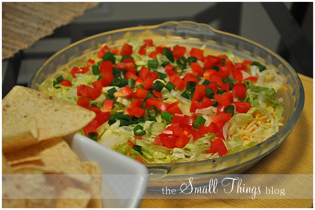 Taco Dip is a simple layer dip that's quick and easy to make!