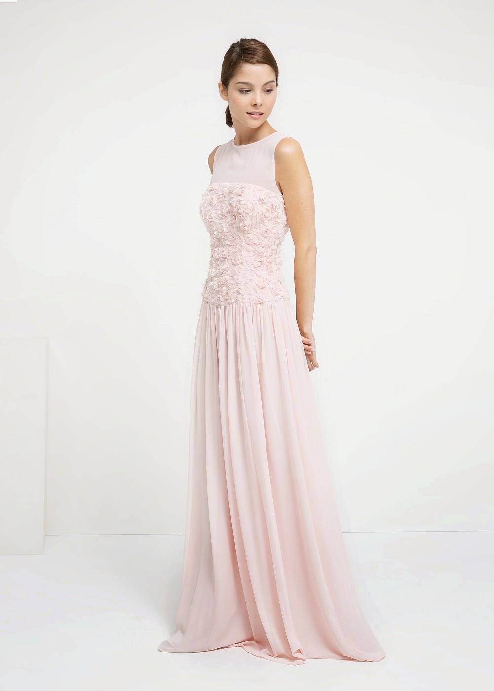 Vestido novia mango