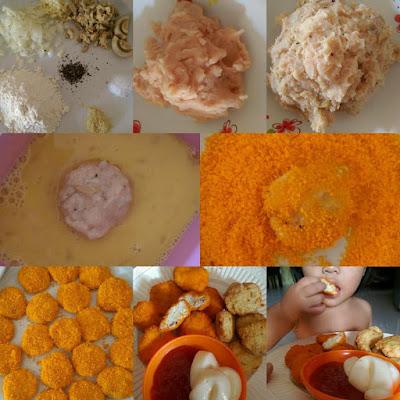 Resepi Mudah Mushroom Nugget