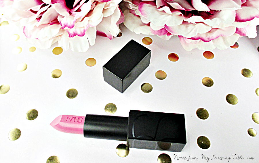 NARS Audacious Lipstick in Claudia Review notesfrommydressingtable.com