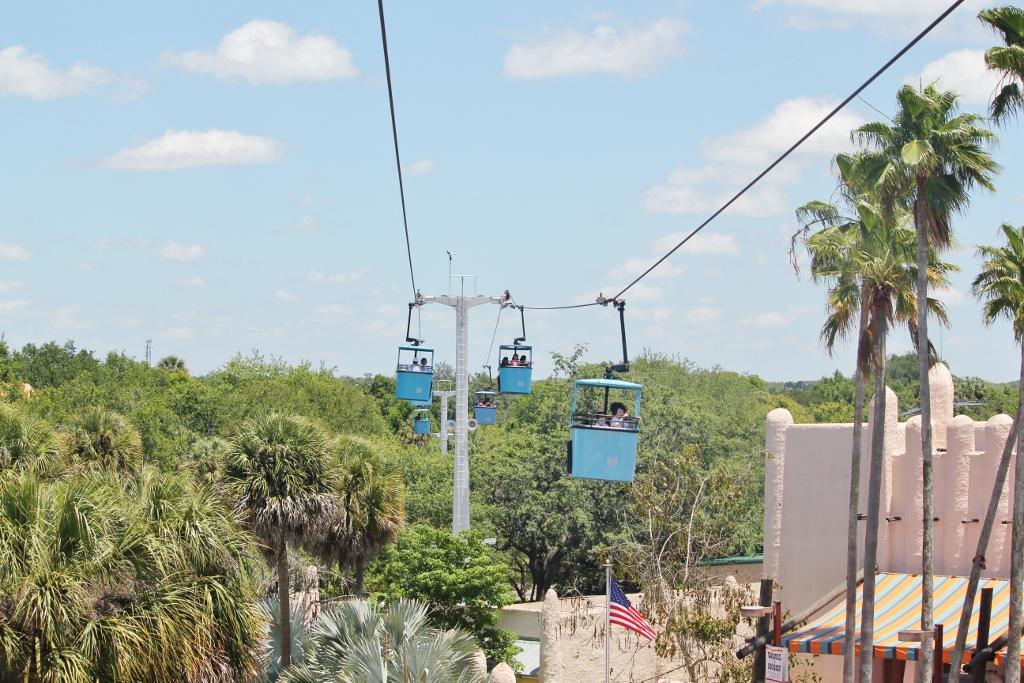 Skyride Busch Gardens Tampa Bay
