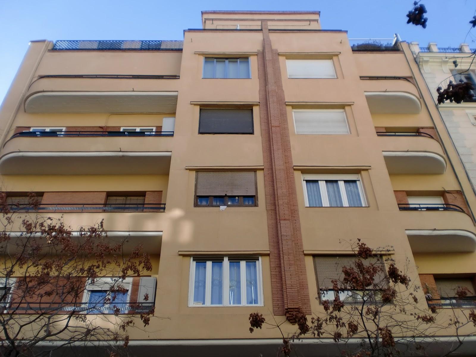 Madrid art dec bret n de los herreros 18 for Arquitectura franquista