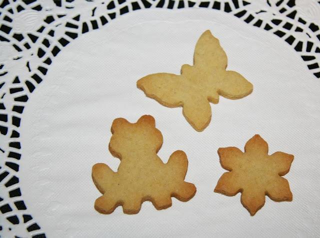 Vaniljkakor som håller formen