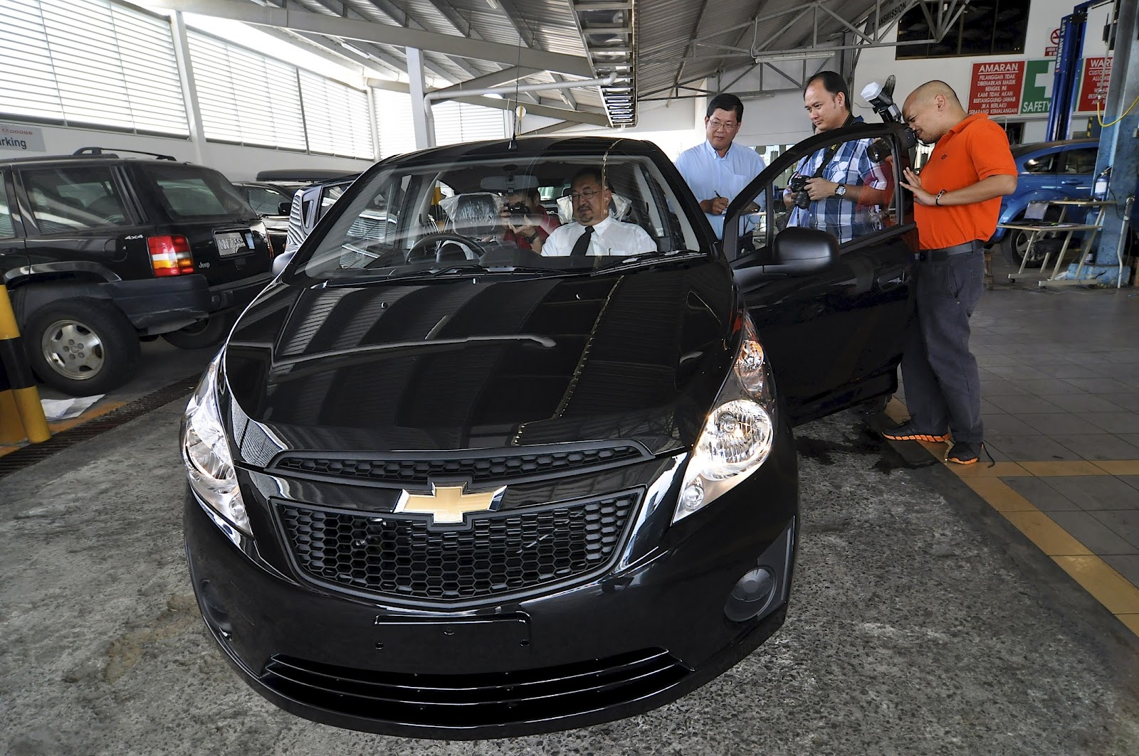 Chevrolet spark finally touch down at brunei