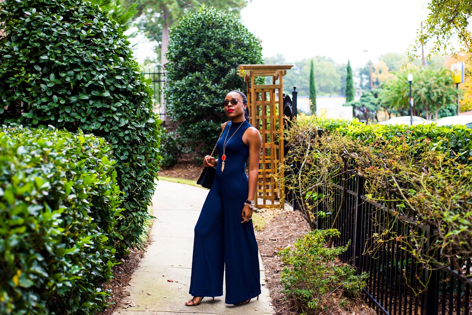 perfect jumpsuit for fall