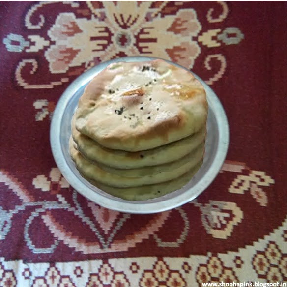 Aloo Mutter Kulcha