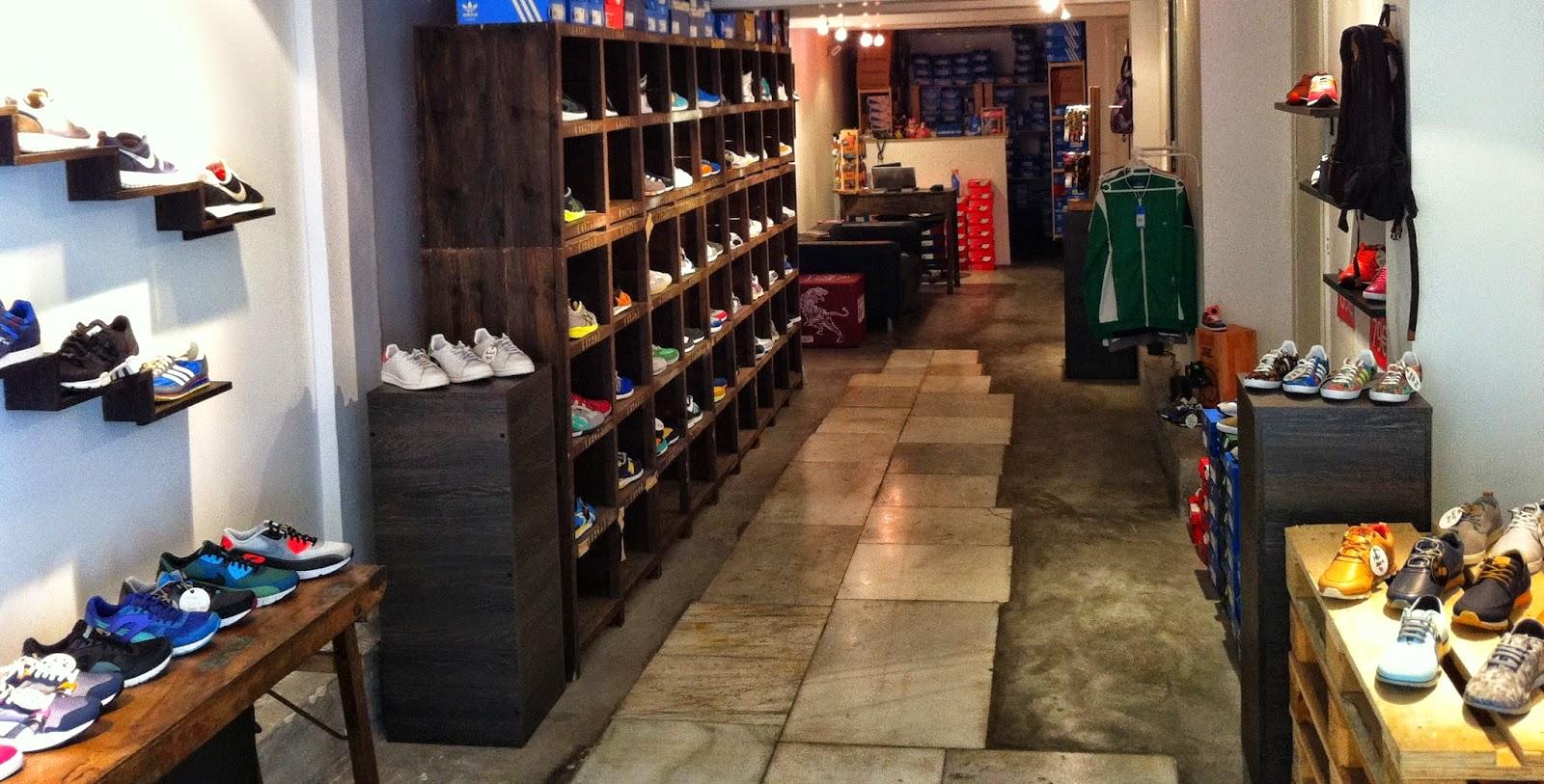 Entrada y visión general de la tienda