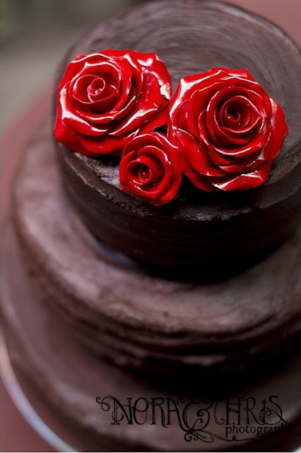 montreal chocolate wedding cake