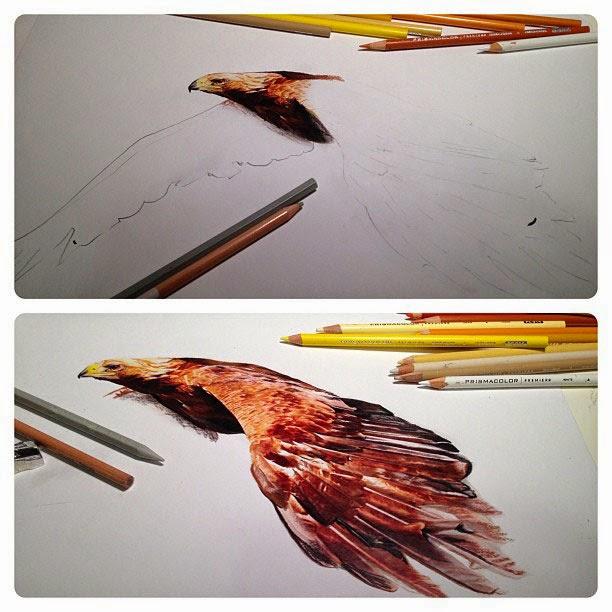 رسم بقلم الرصاص