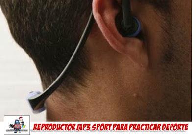 auriculares MP3 para hacer deporte