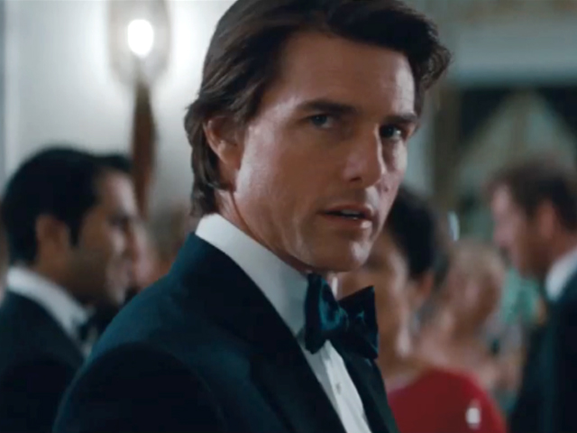 MISSION IMPOSSIBLE 4     IMPOSSIBLE TO RESIST TOM CRUISE    DTom Cruise Mission Impossible 4 Hairstyle