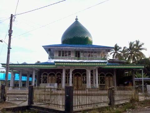 Masjid Nurul ubudiyah ganda