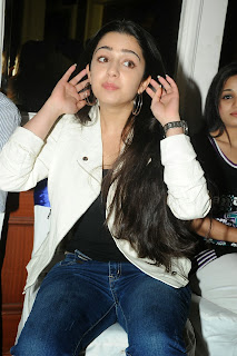 Actress Charmi Kaur Pictures in Jeans at One by Two Movie Celetes 20 Years Event  0153
