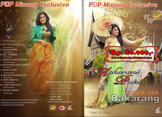 Maharani Putri - Sumpah Janji Bakarang (Album Pop Minang Exclusive)