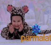 Propaganda dos Mamíferos da Parmalat (iogurtes) em 1997.