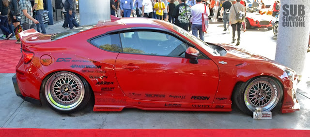 Red Rocket Bunny Scion FR-S from the 2013 SEMA Show