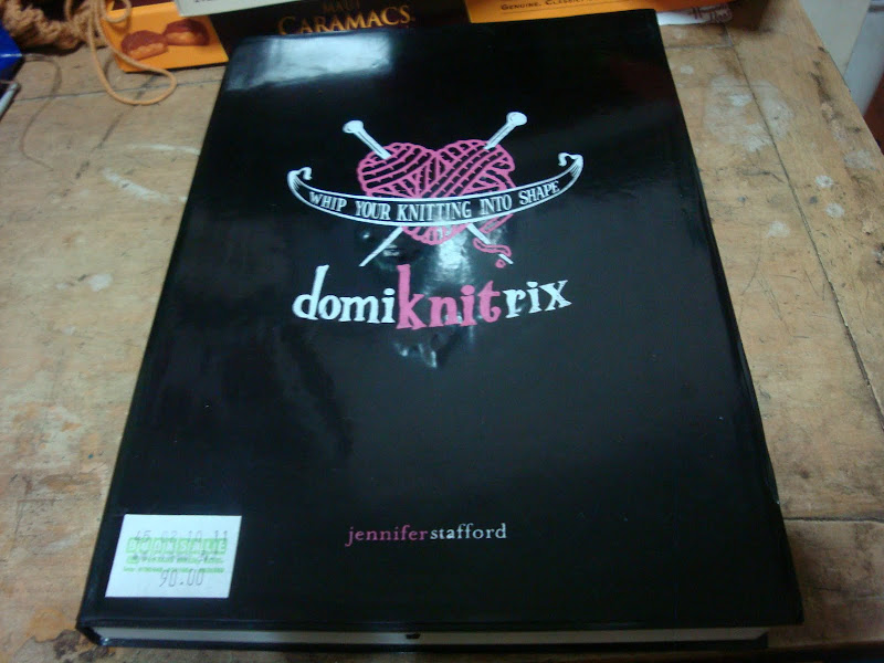 My very own copy of Domiknitrix!