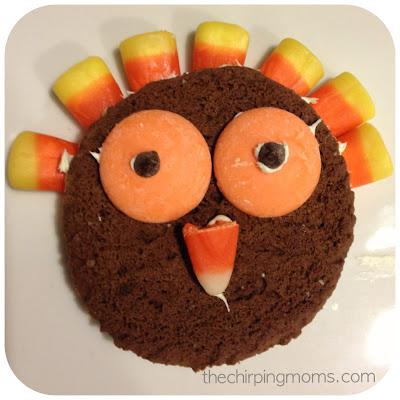 No Bake Thanksgiving Cookies : The Chirping Moms