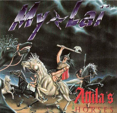 album cover barbarians badly drawn horses