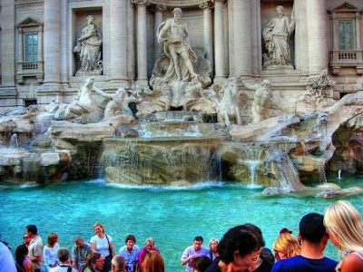 Trevi-Fountain. Rome