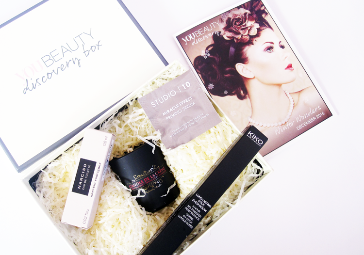 You Beauty Discovery Box - December 2015 review
