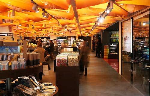 Modern Lighting Ideas For Food Market Design