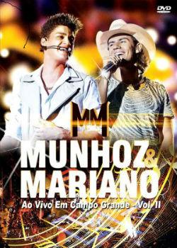 DVD Munhoz & Mariano Ao Vivo em Campo Grande 2012 Camaro Amarelo Completo