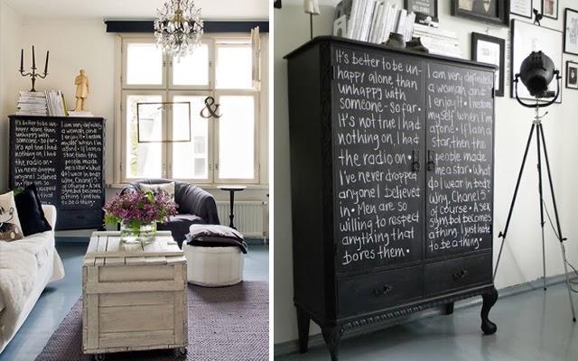 Ideas para pintar una habitacion juvenil decorar tu casa - Pintura tipo pizarra ...