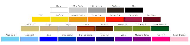 couleurs, nuancier mode, couleurs automne hiver 2015, tendances automne hiver