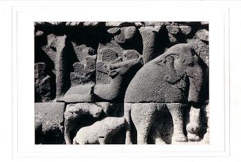 """Gajah & Kijang"" (18 X 13 Cm)"