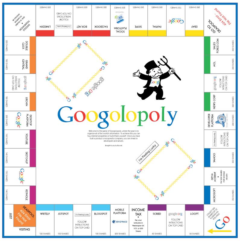 LA TARCOTECA Contrainfo: Google, Monopolio en la red