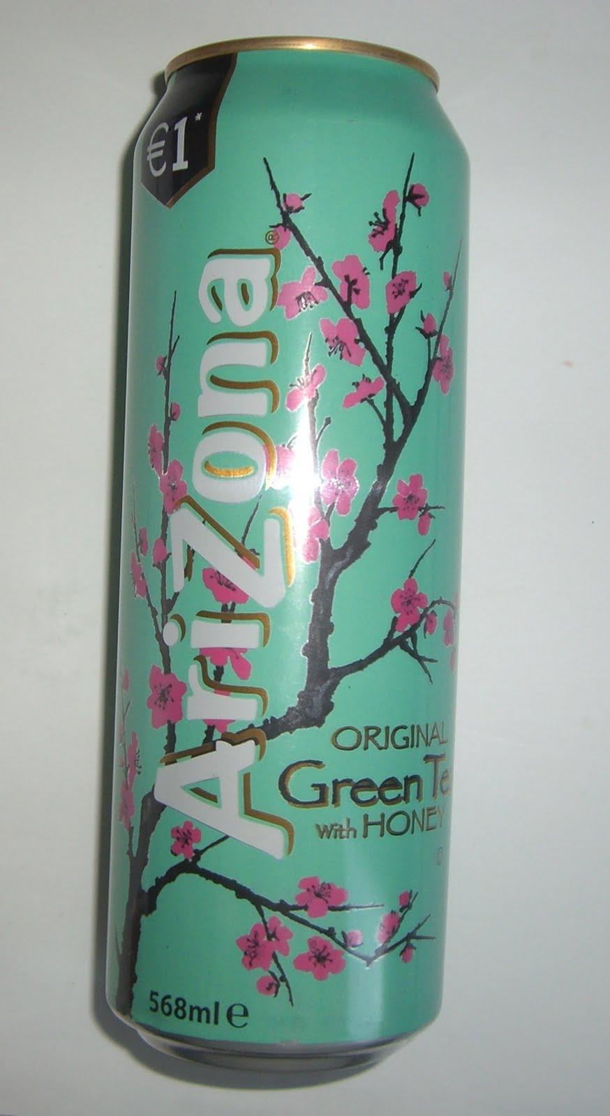 Arizona Iced Tea Drinking