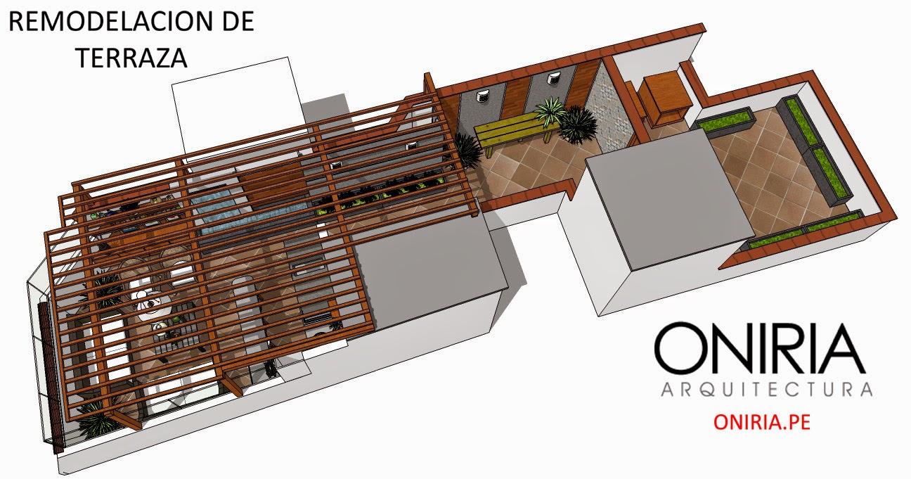 Oniria dise o de terraza en azotea for Ideas para terrazas en azoteas