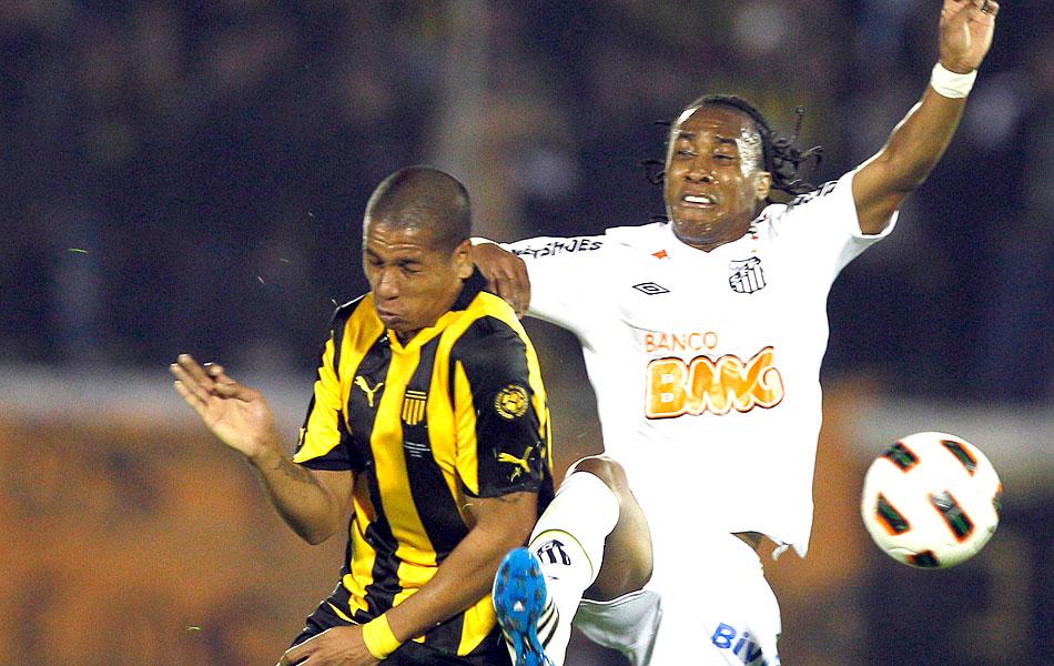 Arouca na decisão entre Peñarol e Santos