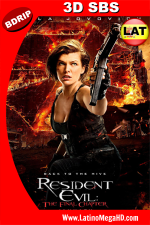 Resident Evil: Capítulo Final (2016) Latino 3D SBS BDRIP 1080P - 2016