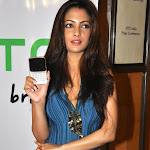 Riya Sen with Mobile Cute Pictures