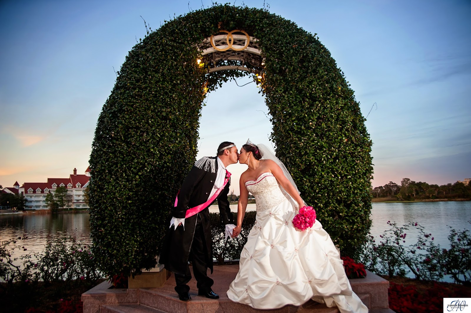 Wow What A Fun Disney Themed Wedding Not Only Did Mackenzie Chad And Their Bridal Party Dress In Attire All Of Family Guest Dressed