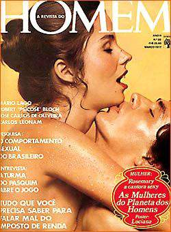 Confira as fotos das Gatas do Planeta dos Homens, Capa da Revista Homem de Março de 1977!