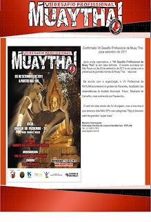 VII Desafio Profissional de Muay Thai