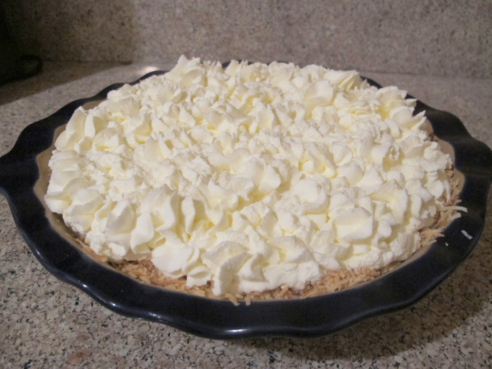 Munchie Musings: Banana Coconut Cream Pie (gluten free)