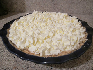 Banana Coconut Cream Pie (gluten free)