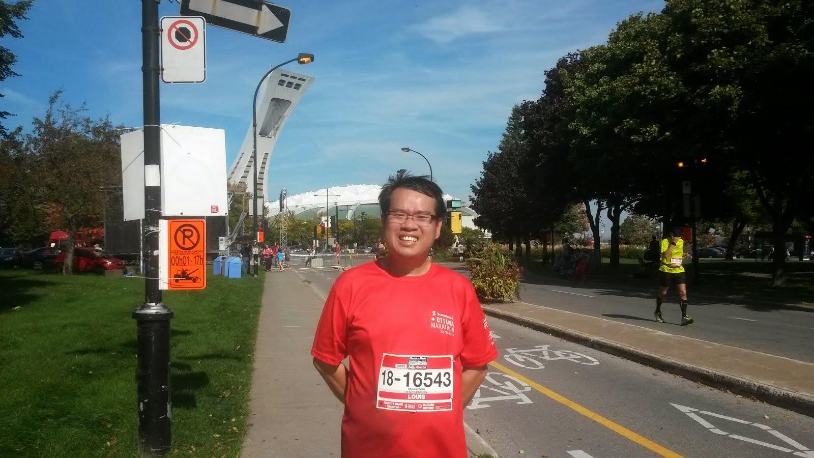Montreal Marathon 2014